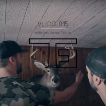 VLOG 015: Bare Shaft Tuning the Valkyrie Archery System Arrows with the Striker RK1 Longbow