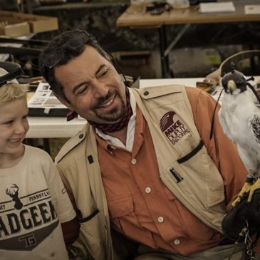 Episode #53 – Mike Dupuy – falconary/ bird of prey expert