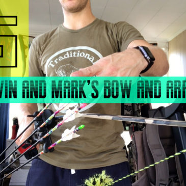 VLOG: Kevin and Mark's Bow and Arrow Setup