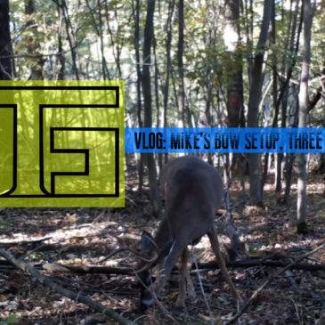 Tradgeeks VLOG: Mike's Bow Setup and 3 Days of PA Archery Season.