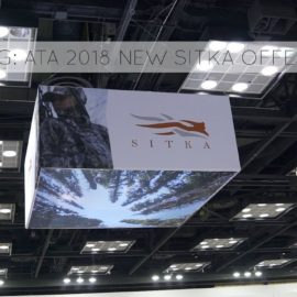 TG VLOG: ATA 2018 NEW SITKA GEAR OFFERINGS!