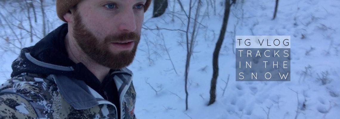 TG VLOG: Tracks in the snow